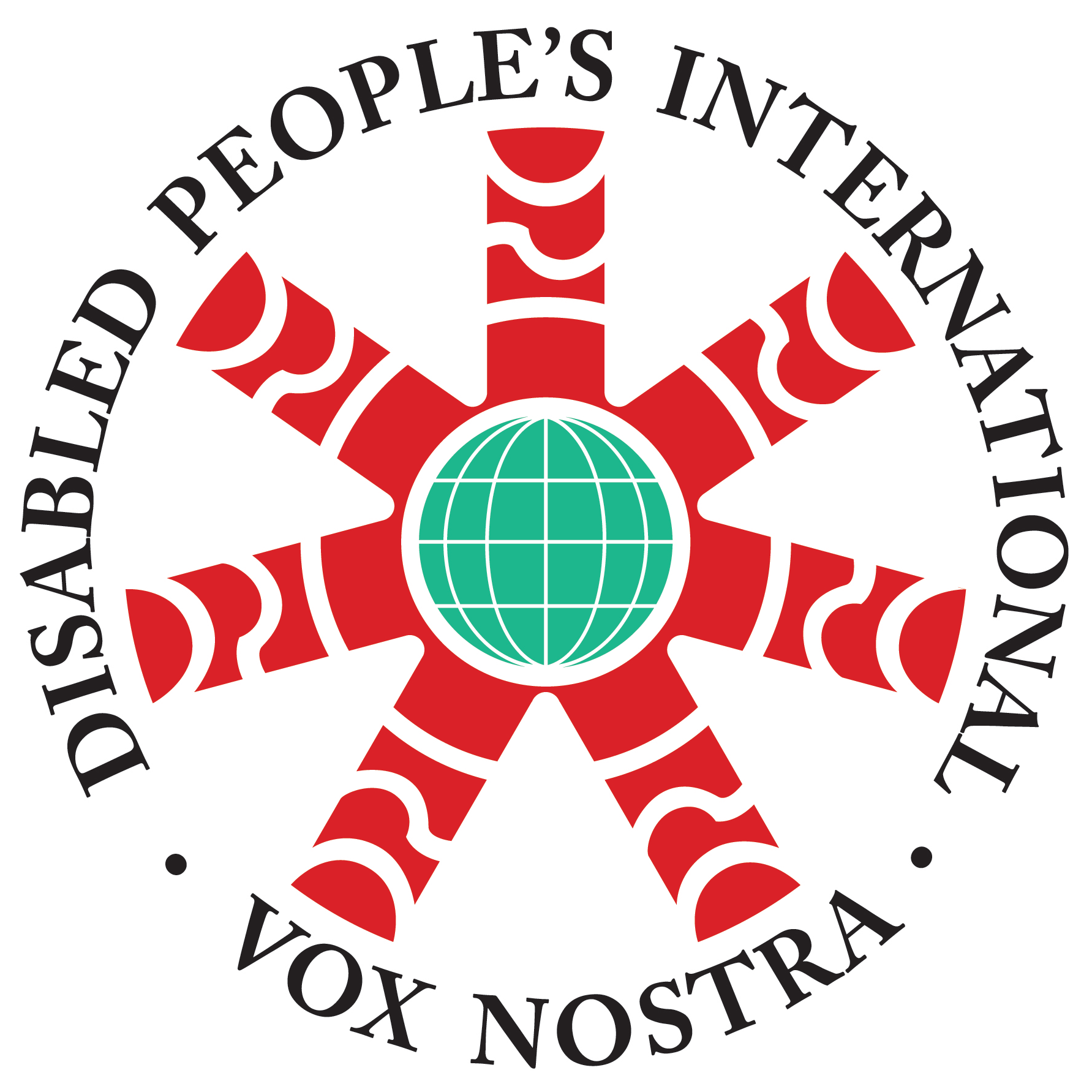logo of Disabled people's international