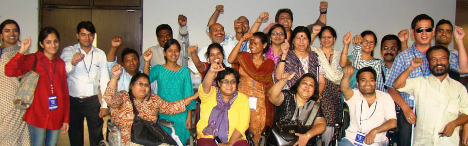 Group Photo of DPI India's National Disability Network.