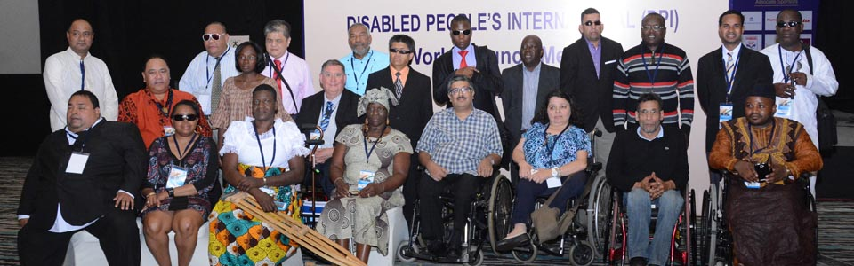 Group photo of the participants at DPI World Assembly